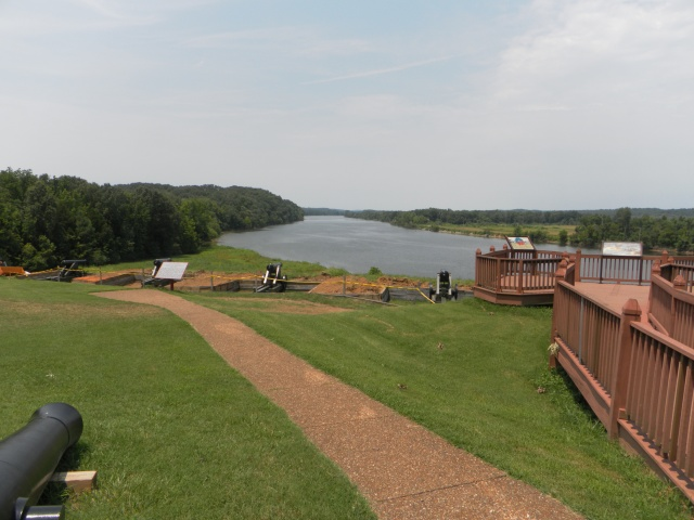 View of river from Ft. Donelson, TN