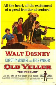 old yeller movie poster