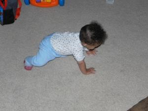 crawling practice