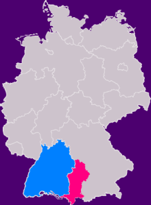 German Swabia