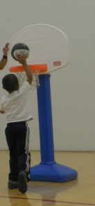 dunking practice