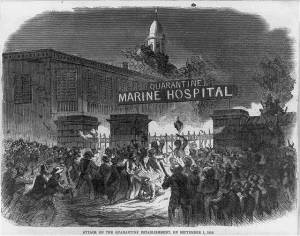 attack on marine hospital
