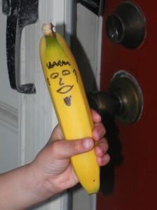 Mr. Banana comes to call