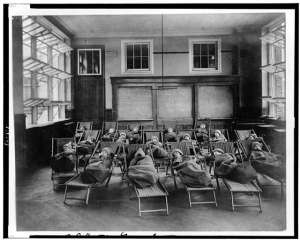 Sleeping school