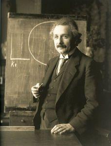 Einstein avoids chicken