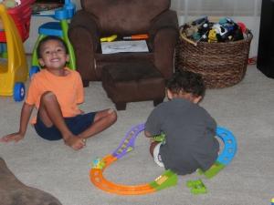 Railroad barrons at peace.